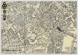 Screenshot of 1936 London map