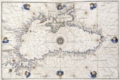 Black Sea, Battista Agnese's Portolan Atlas