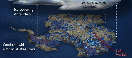 Antarctic Lakes (portion)