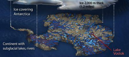 Antarctic Lakes (portion)