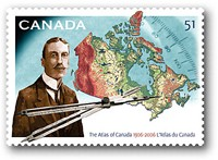 Atlas of Canada stamp