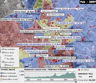 The Map Room - Mapping Violence in Baghdad