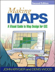 Book cover: Making Maps, 2nd ed