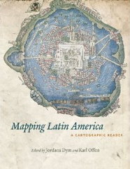 Book cover: Mapping Latin America