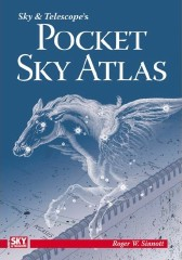 Book cover: Pocket Sky Atlas
