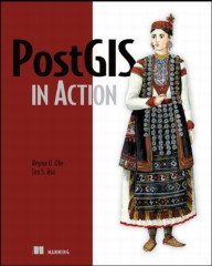Book cover: PostGIS in Action