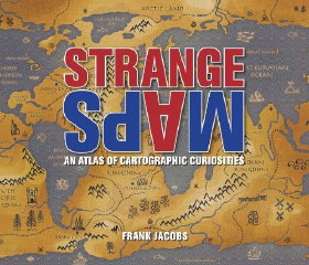 Book cover: Strange Maps