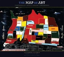 Book cover: The Map as Art