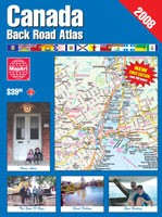 Canada Back Road Atlas (cover)