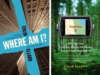 Colin Ellard's book covers