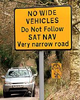 Road sign (The Mail on Sunday)