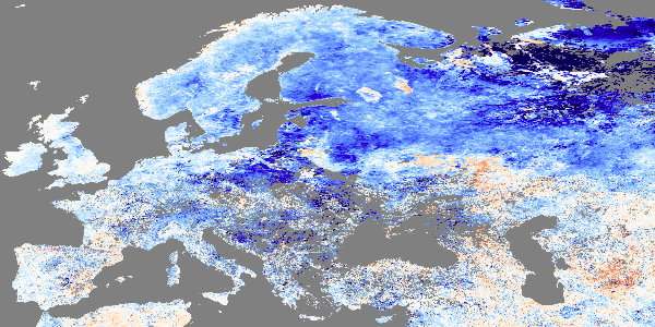 Earth Observatory: Deadly Cold Across Europe and Russia