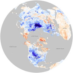 Earth Observatory: Arctic Oscillation