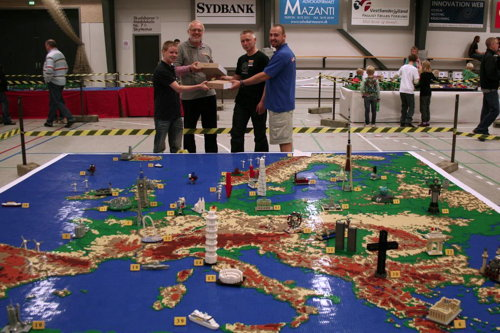 Lego map of Europe