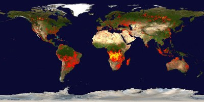 MODIS fire map (from 2006)