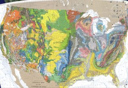 Google Earth screenshot of U.S. Geologic Map