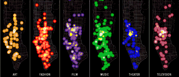 The Geography of Buzz (New York)