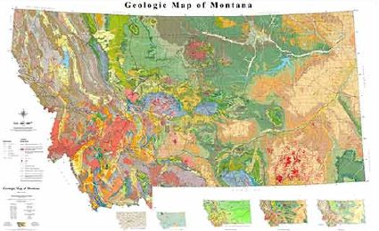 Geologic Map of Montana