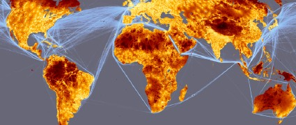 Global map of accessibility