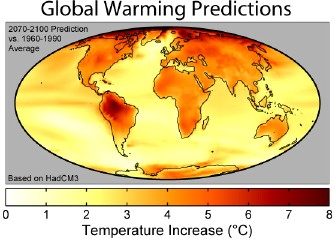 Global Warming Art: Global Warming Predictions