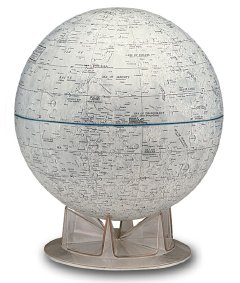 Replogle's globe of the Moon
