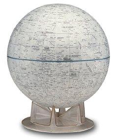 Replogle's globe of the Moon