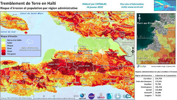 SERVIR: Haiti erosion risk