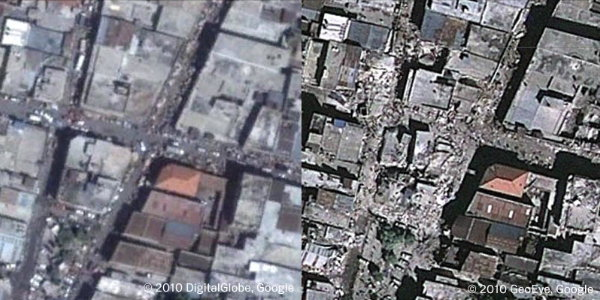 Port-au-Prince: before and after