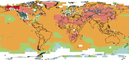 Map from IPCC Fourth Assessment Report (2007)