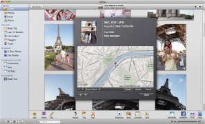 iPhoto '09 screenshot (Apple)