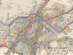 Ireland's Historic Mapping Archive, sample (Westport)