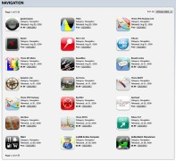 iTunes application store (screenshot)