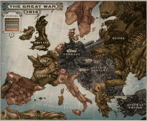 Keith Thompson: The Great War 1914 (thumbnail)