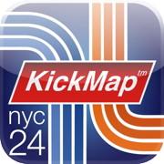 KickMap app icon
