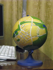English Russia: Local globe