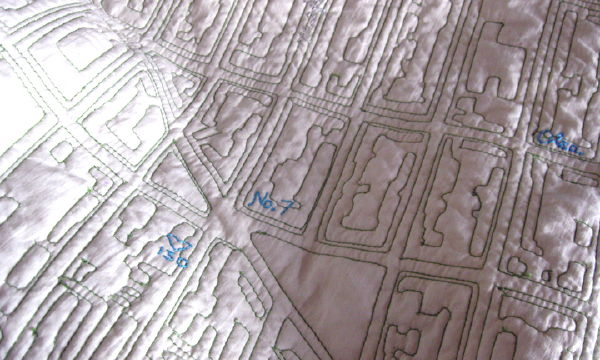 Previously: New York Subway Map Quilt Fabric;