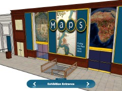 Maps: Finding Our Place in the World Virtual Gallery (screenshot)