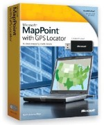 Microsoft MapPoint 2010 with GPS Locator