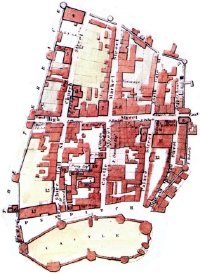 Mapping the Medieval Urban Landscape (illustration)