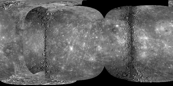 Map of Mercury