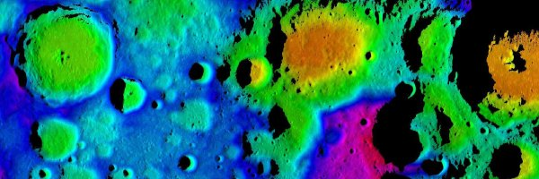 The Moon's south polar region