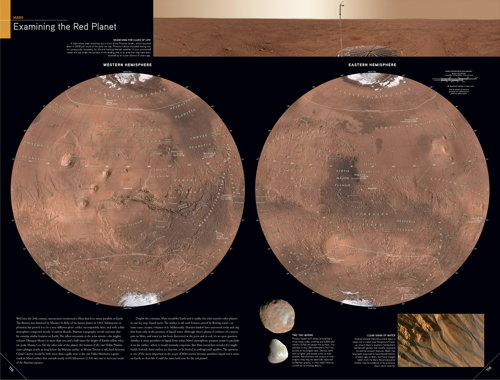 National Geographic Atlas of the World, Ninth Edition: Mars