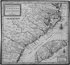 A Map of the Province of Carolina ... (1730)
