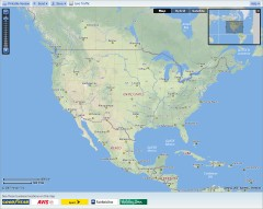 Yahoo Maps screenshot