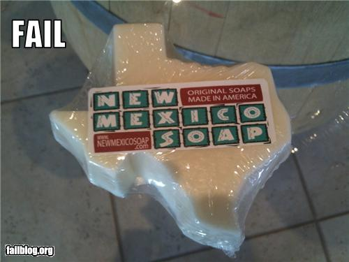 Failblog: New Mexico Soap Fail