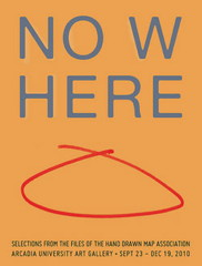 Nowhere exhibit poster