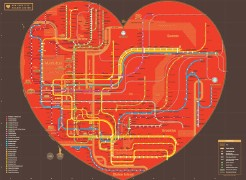 Heart-shaped NYC subway map (thumbnail)