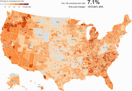 New York Times unemployment map (screenshot)