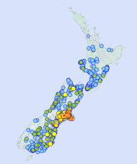 New Zealand Earthquake Report
