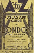 Cover of A to Z Atlas and Guide to London